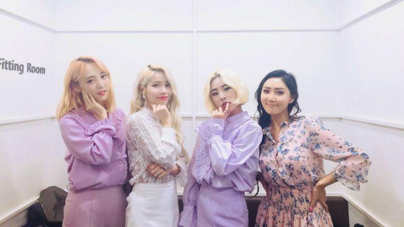 MAMAMOO 征服三月 Gaon 數位綜合榜 接下來就看隻身出擊的成員了!
