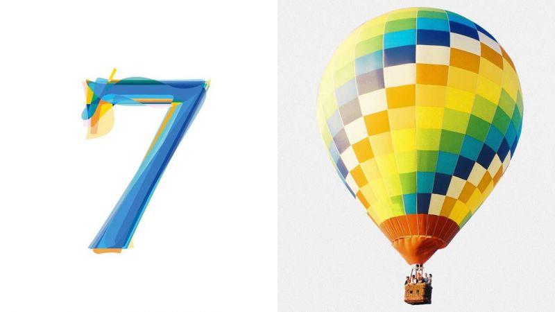 BTS 防彈少年團公開新專代表數字「7」的這個配色,是不是很眼熟~!?