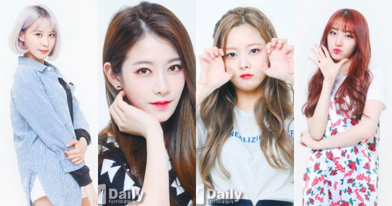 銀雨、珉炅、京元、藝彬 11 月重新出道 新團團名為「HINAPIA」!