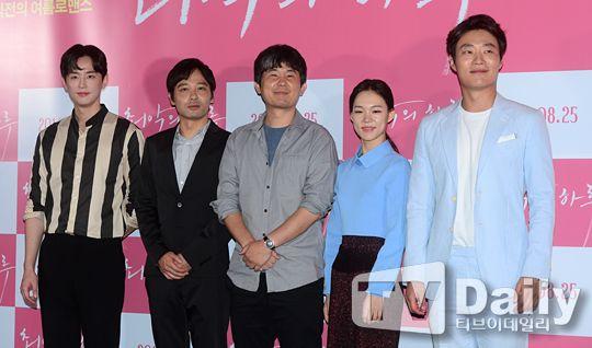 《最壞的一天》發佈會:韓藝璃一女搭檔三男