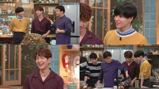 SHINee溫流、泰民出演《家常飯白老師》 展現料理實力與吃貨本色