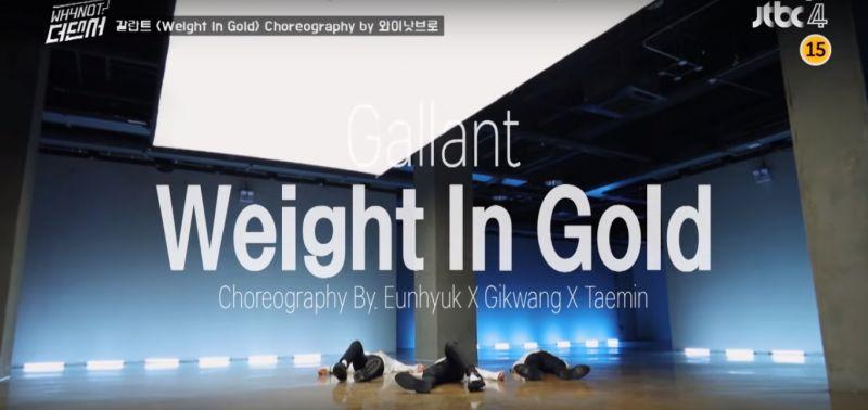 《The Dancer》经过三个月长征…「李氏兄弟」终於完成Gallant《Weight In Gold》编舞!
