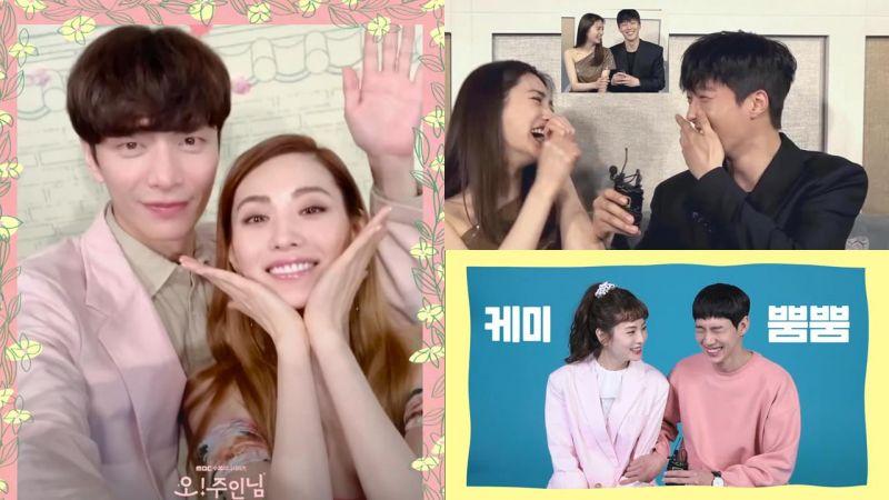 愛情喜劇《Oh!珠仁君》開播,NaNa真的很百搭~與李民基、張基龍、朴成勳宣傳互動都超甜♥