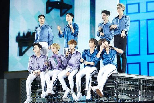 EXO完整體出席2016 ASIA SONG FESTIVAL 張藝興SOLO舞台最初公開
