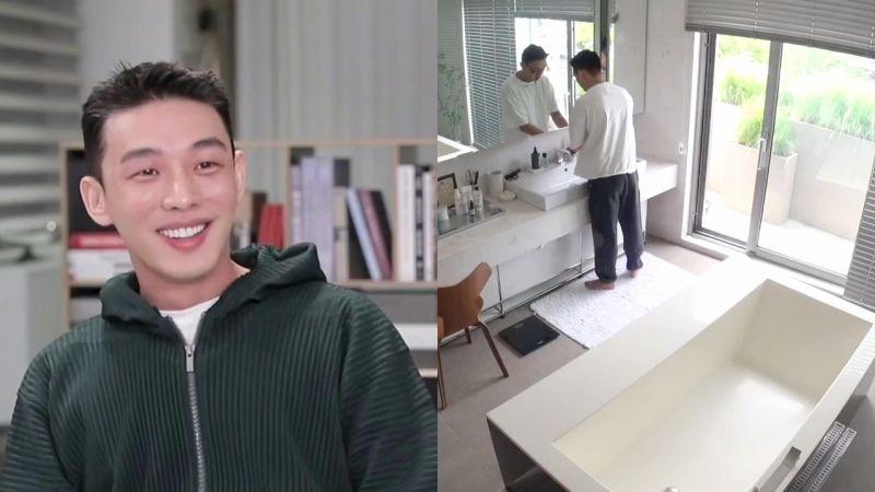 劉亞仁在《我獨自生活》首次公開三層豪宅,從浴衛間通向屋頂夠豪派!