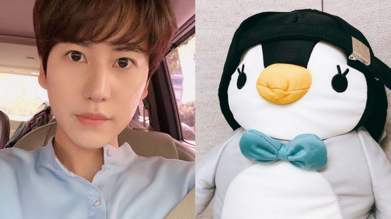 SJ圭賢不斷拿出粉絲們送的「企鵝玩偶」!但他無奈表示:「喜歡是喜歡 但不是那種程度啊~」