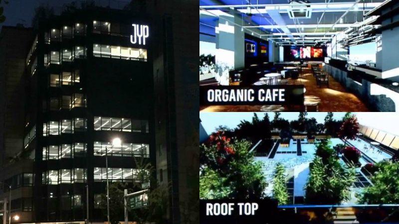 JYP超豪華新大樓內部細節公開!JYP 2.0時代COMING SOON