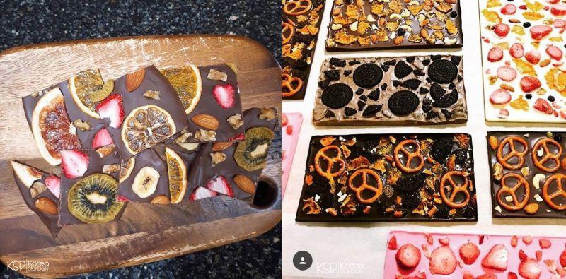韩国网路近来疯传!外观超漂亮的巧克力饼干