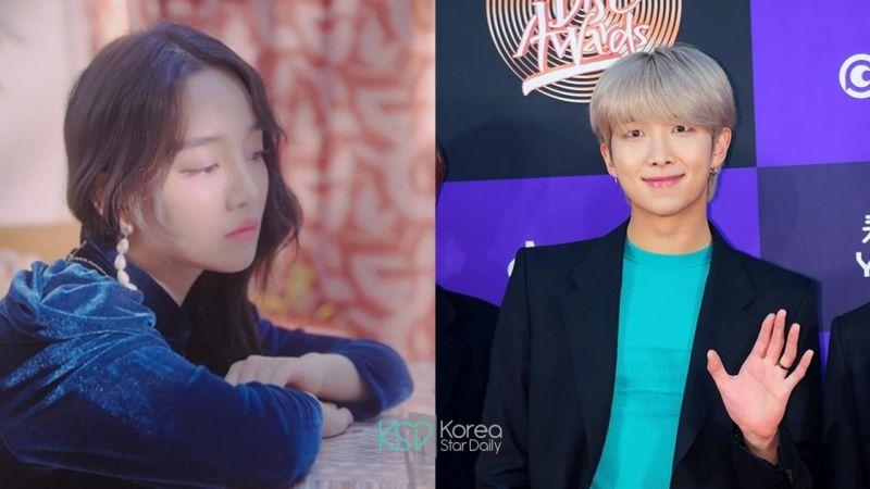防彈少年團 RM 與高潤荷(Younha)合作的新歌《雪中梅》奪下各大音源榜的一位