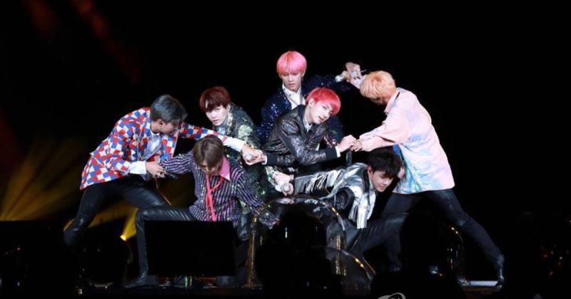 BTS防弹少年团《Love Yourself in Seoul》昨上映 立刻夺下票房亚军!