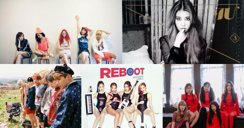 告示牌精選 2010 年代最佳韓流專輯:f(x)、IU、防彈少年團⋯⋯等歌手上榜!