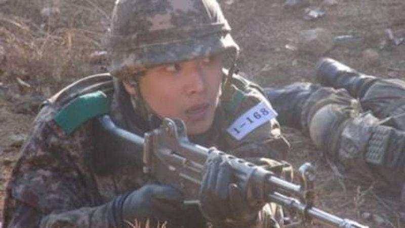 李准新兵训练表现优异  结业获得训练成绩一位殊荣