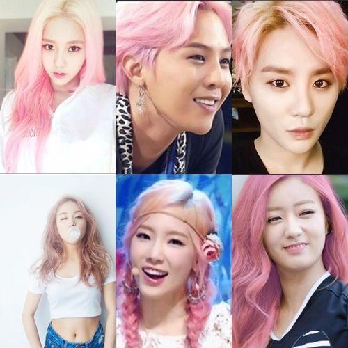 粉色頭髮就要這麼玩!