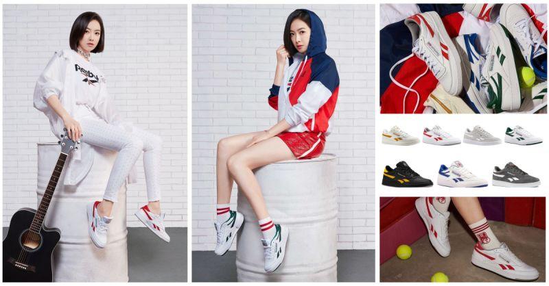 「除了Wanna One还有她!」f(x) Victoria随性演绎Reebok另一经典鞋款Revenge Plus MU!