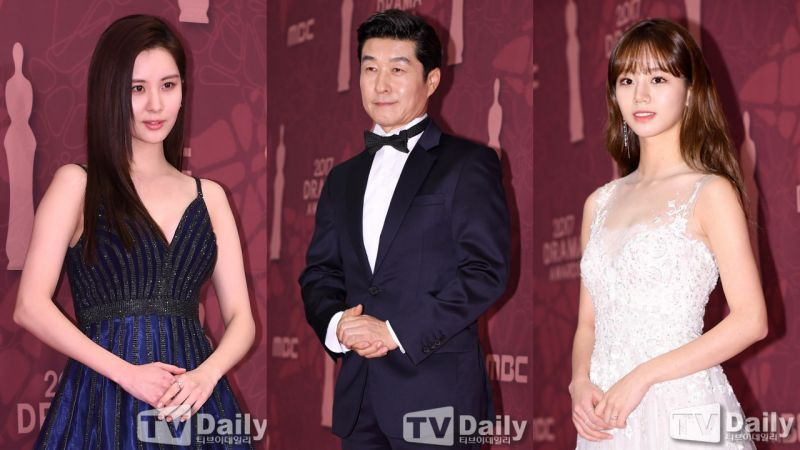 2017 MBC演技大賞紅毯現場:今年最紅的演員都在這裡啦!