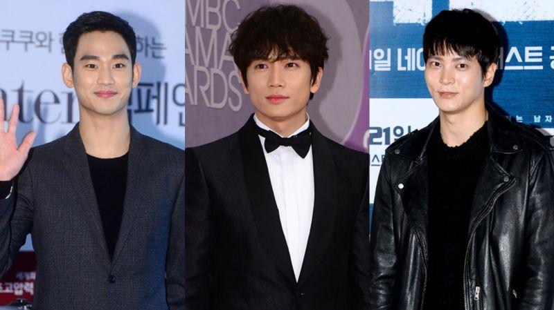金秀贤、池晟、周元出席三大台年末颁奖典礼 2017年大赏预感