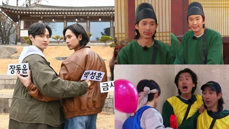 《Running Man》預告《朝鮮驅魔師》出演照,朴成勳&李光洙化上醜妝變兄弟!