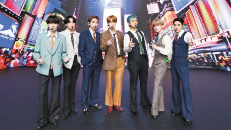 BTS防弹少年团创K-POP历史首夺「Billboard HOT 100」冠军!总统都都发来了贺文:壮举~
