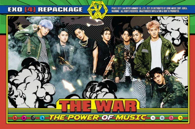 EXO強勢回歸啦!新專輯《Power》全開 攻佔海內外各大音源榜一位