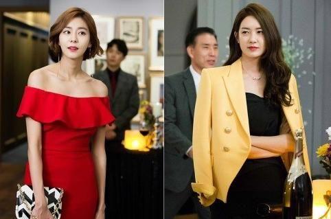 MBC新月火剧《不夜城》李瑶媛、金宥真(UEE)不寻常的初次见面