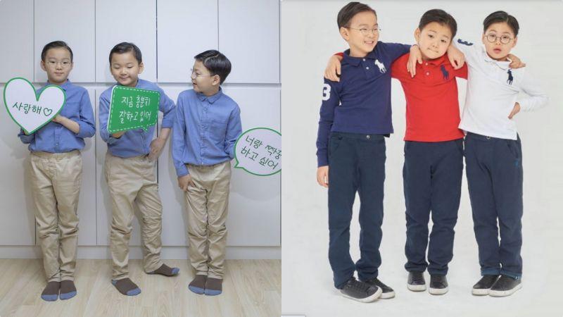 「国民三胞胎」大韩民国万岁近况公开:三七分头鋥亮,完全是小大人了!