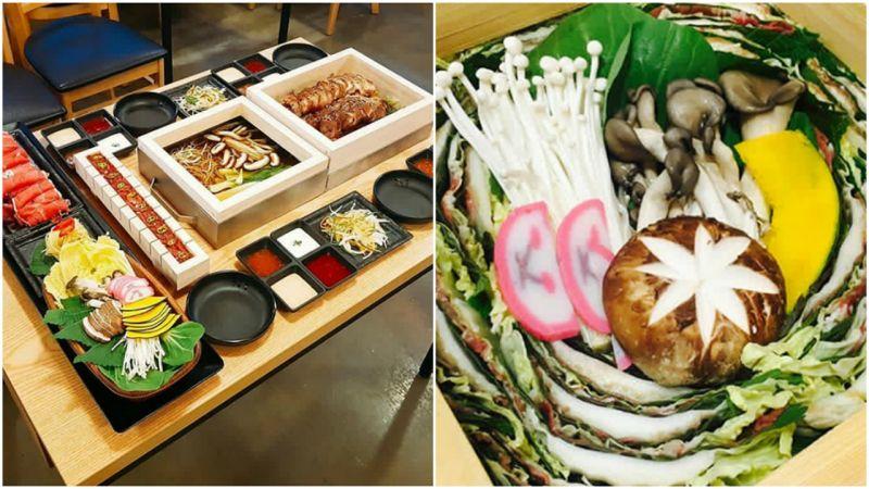 【弘大必吃】超过分的美食组合:海鲜锅/猪脚+涮涮锅+生牛肉寿司+自助吧 连电视台都争相报导!