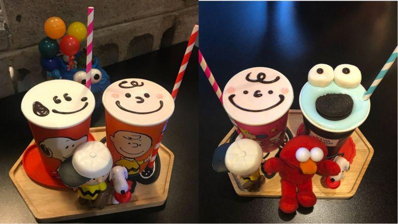 望遠洞超可愛咖啡廳!裡面有著滿滿的玩具、扭蛋機外,連飲料也超可愛啊!