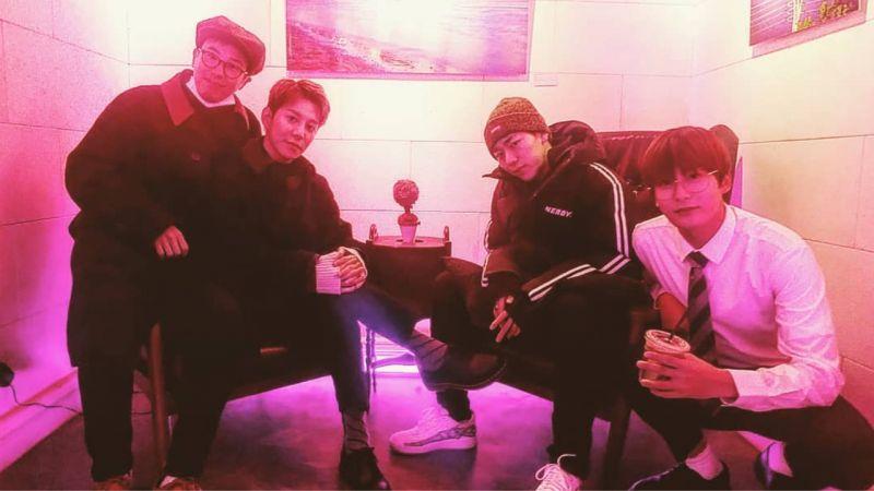 Block B深厚的团魂!Zico、朴经和P.O一起去看了宰孝的摄影展,让粉丝们表示:「太感人了」