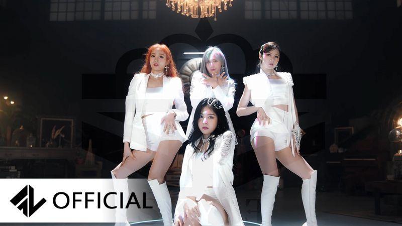 SKYLE今天以主打歌《천사의 날개를 내게줘》正式出道!成員ERIN:拍攝MV一天減磅1kg
