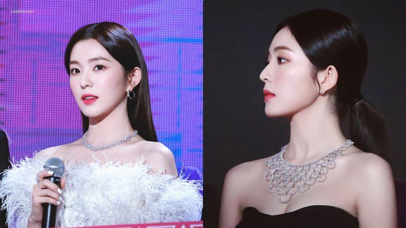 人間富貴花!過億珠寶都比不上Red Velvet Irene的美貌,仙出新高度