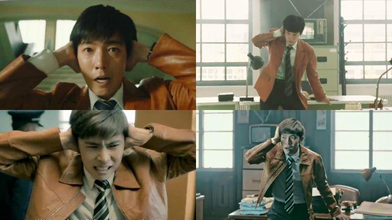 神還原韓劇《火星生活》!鄭敬淏知道這則外國炸雞廣告後的反應是?