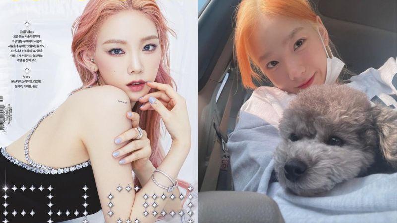 终於等到「信听女王」啦!太妍将在7月发行新曲,最近她也还换了新发色呢!