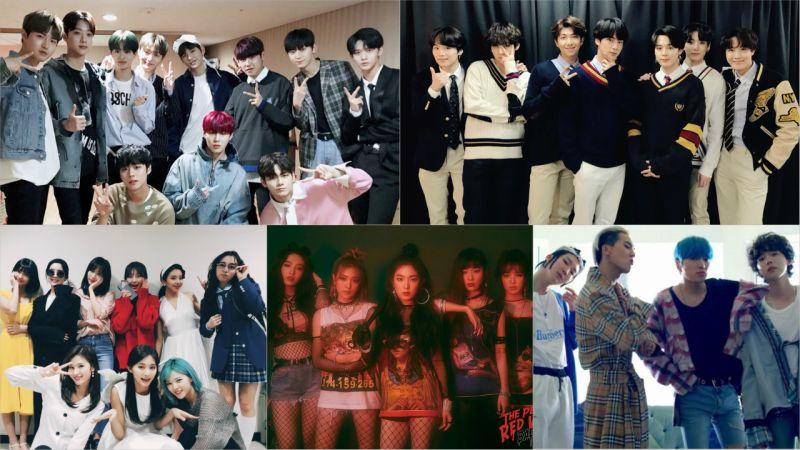 【百大偶像團體品牌評價】擊敗三大社藝人 Wanna One、防彈少年團依然穩佔鰲頭!