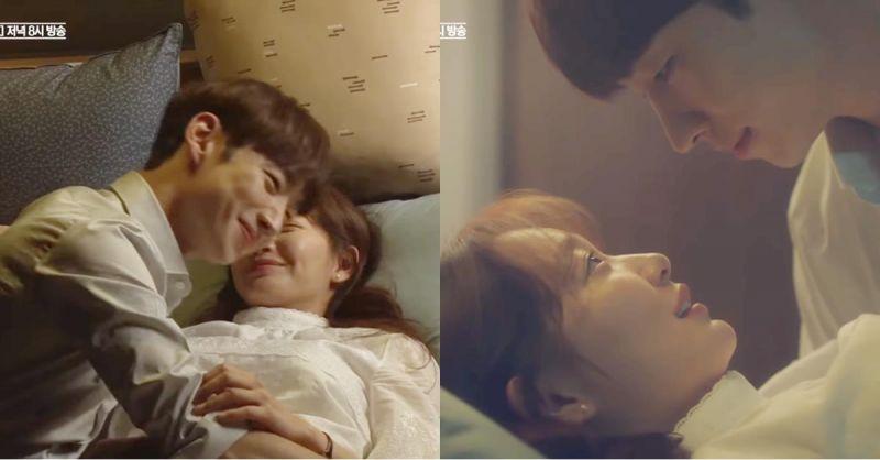 tvN《明天和你》李帝勋&申敏儿公开充满欢笑的床戏花絮