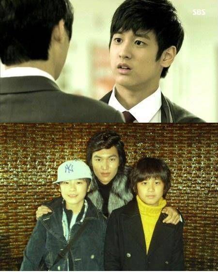 童星鄭燦佑再次於《繼承者們》飾演李敏鎬兒時