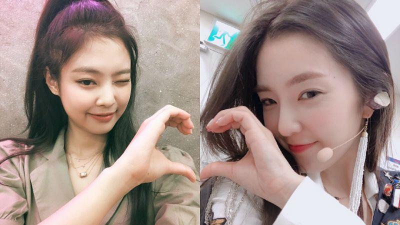 「我和本命一起比心❤」为什么最近韩国明星都比半颗心?