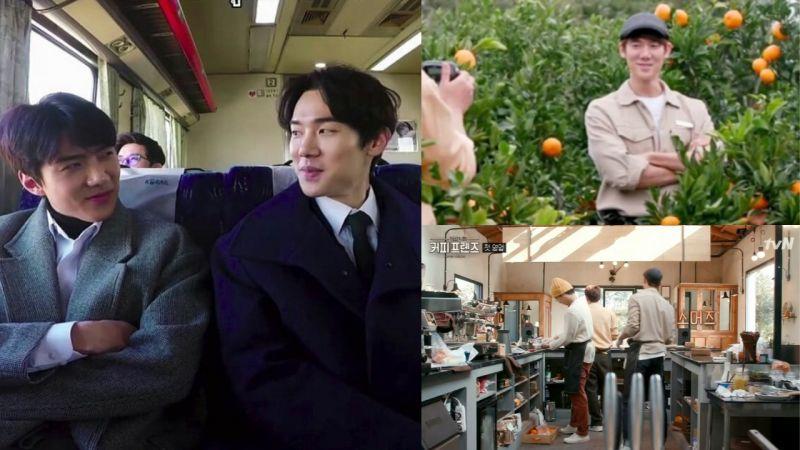 新的「兼職生」要來啦!EXO世勳今日前往濟州島,參與《Coffee Friends》的錄製!