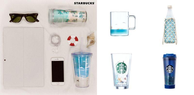 今个夏天~韩国Starbucks又出招啦!