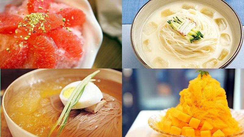 韩国夏日消暑主题美食【三大类型】 走在路上随处可见但你却没吃到?可以赶快笔记下来啦~!