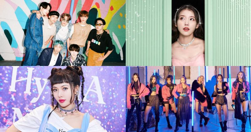 BTS防彈少年團九度征服 K-Pop Radar MV 週榜 IU、泫雅、Dreamcatcher 新上榜!