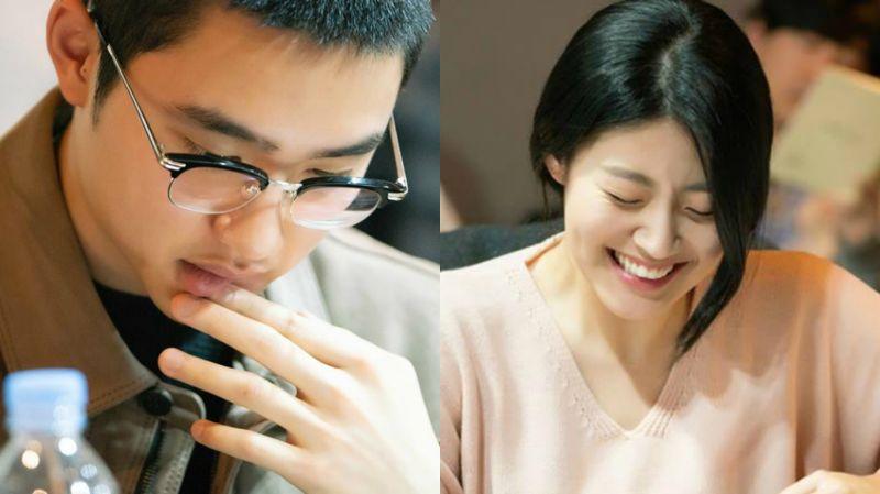 太好奇是什么剧情了!《百日郎君》剧本阅读照再公开 南志铉被内容逗得哈哈大笑?