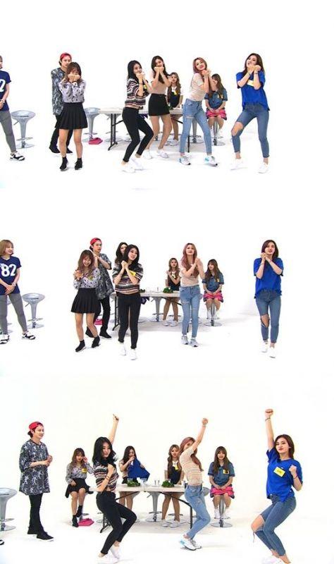 《一周偶像》播出刪減鏡頭 I.O.I跳EXO&TWICE&防彈少年團的舞!
