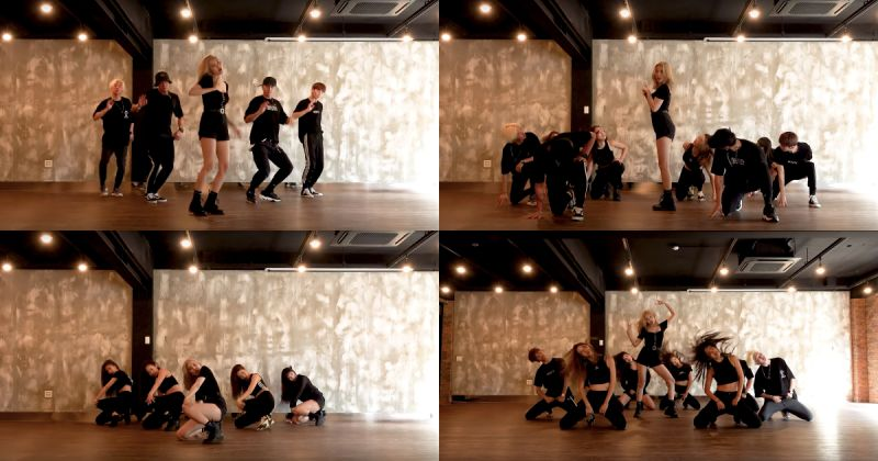 善美就是霸气!〈LALALAY〉全黑造型舞蹈练习片公开