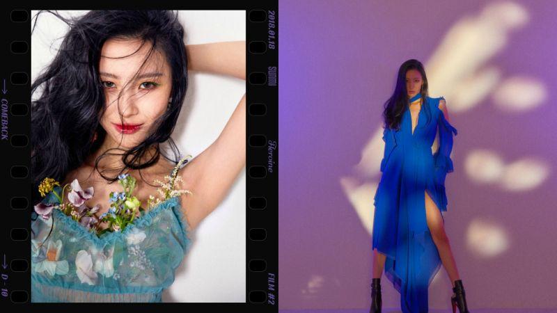 善美〈Heroine〉宣傳落幕後 仍成功蟬聯《人氣歌謠》第一名!