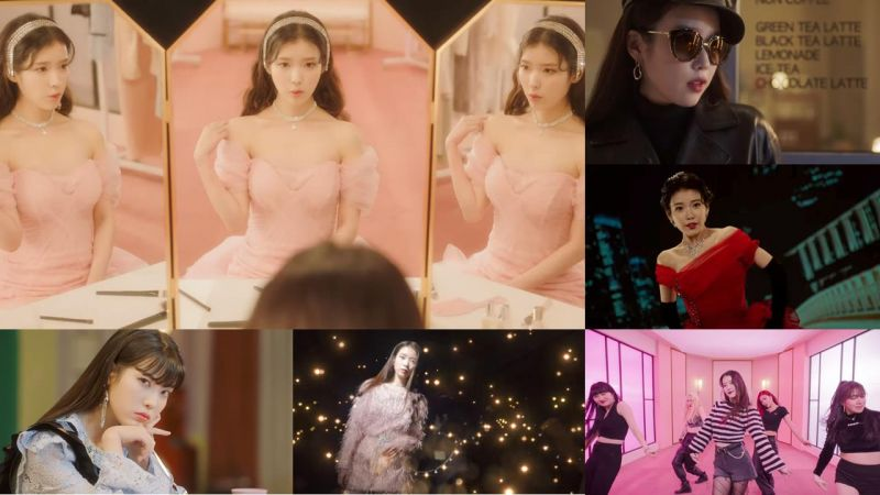 IU 新歌《Celebrity》换了11套华丽造型一次看,歌曲中也隐藏著深意~