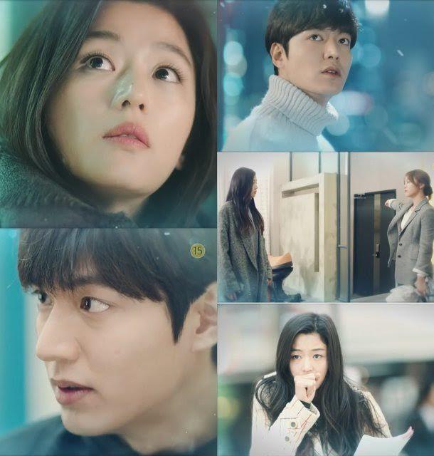 《藍色海洋的傳說》第5集預告:李敏鎬&全智賢初雪能否相遇?