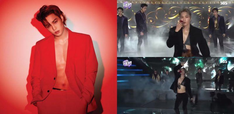 【有片】EXO KAI咬花獨舞帥出新天際!三角「胸」衣比不穿還要性感呀