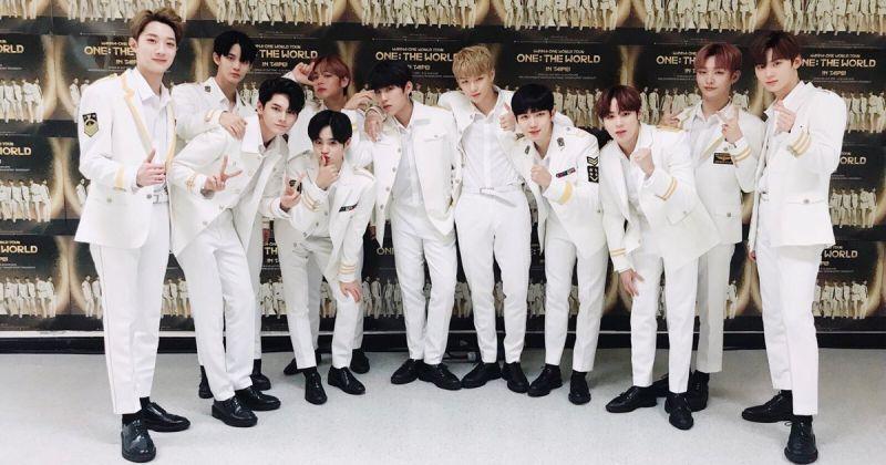 Wanna One 搶先開賣世巡首爾場 DVD 直接包辦 Yes24 銷量榜前三名!
