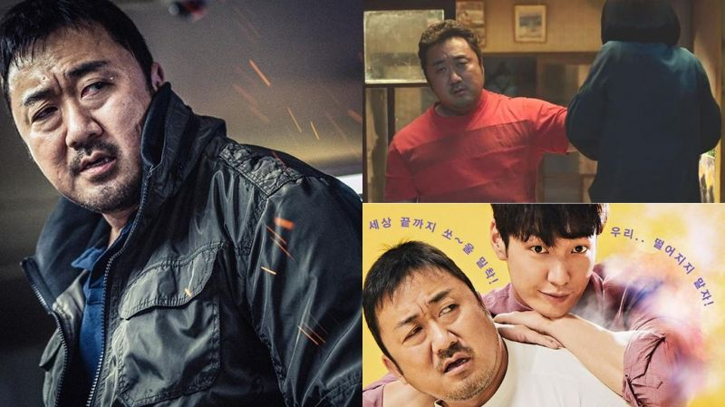 2018年铁臂大叔「马东石」平均每两个月就上映一部电影,产量极高啊~!