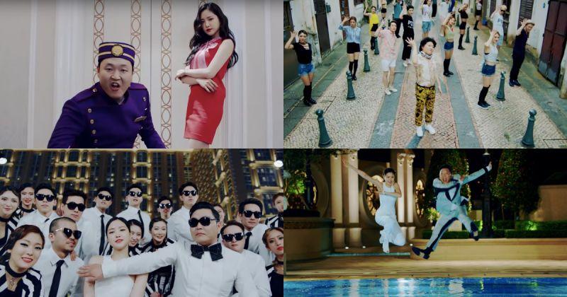 PSY x 孙娜恩的经典作!〈New Face〉MV 观看次数破两亿